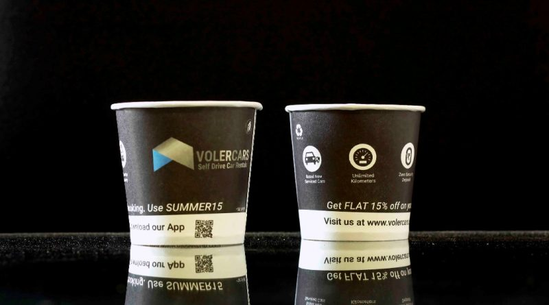 Creative marketing Ideas for Start-up-Paper Cup Ads-Gingercup