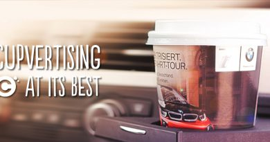 The Power of Branding In-flight using Paper Cups