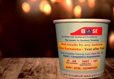 Paper Cups – Advertising the Indian Coaching Industry