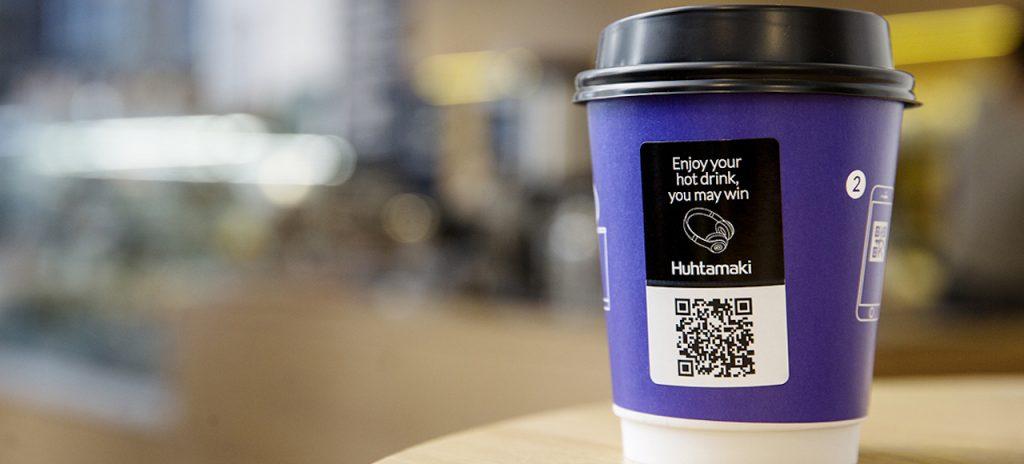 heat-sensitive paper cup branding